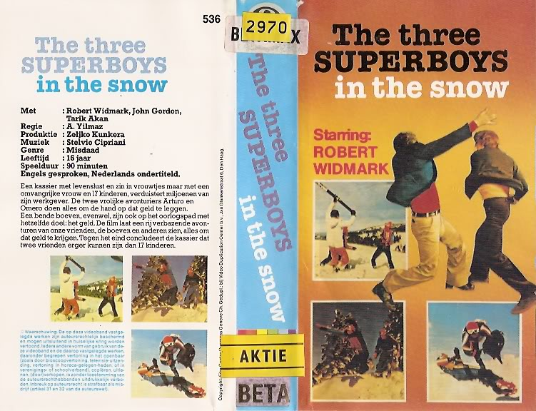 The Three Superboys in the Snow movie