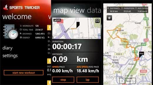 sports tracker premium app aplicacion correr