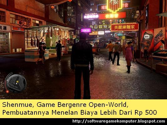 Shenmue, Game Bergenre Open-World, Pembuatannya Menelan Biaya Lebih Dari Rp 500 Milyar