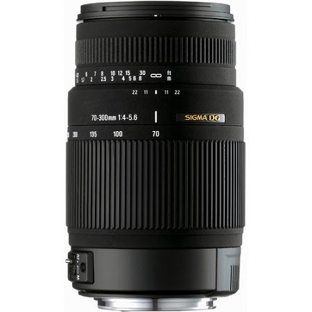 Sigma 70-300 f/4-5.6 DG OS Lens for Nikon Digital Cameras