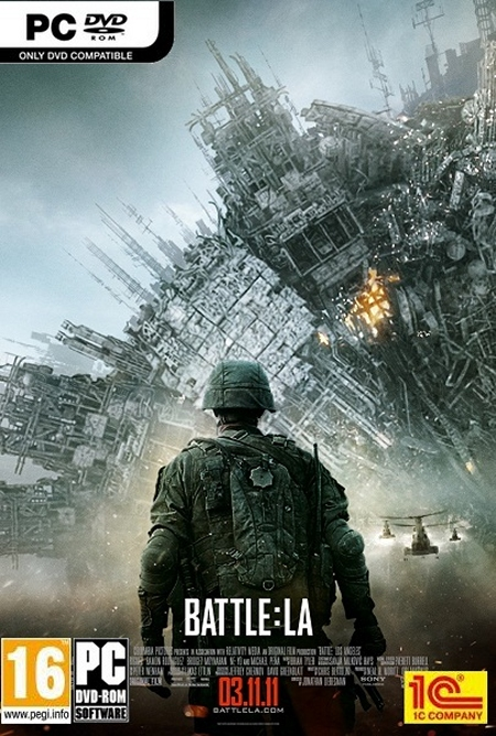 Battle Los Angeles PC ISO DVD 5 Multi Español Descarga 1 Link