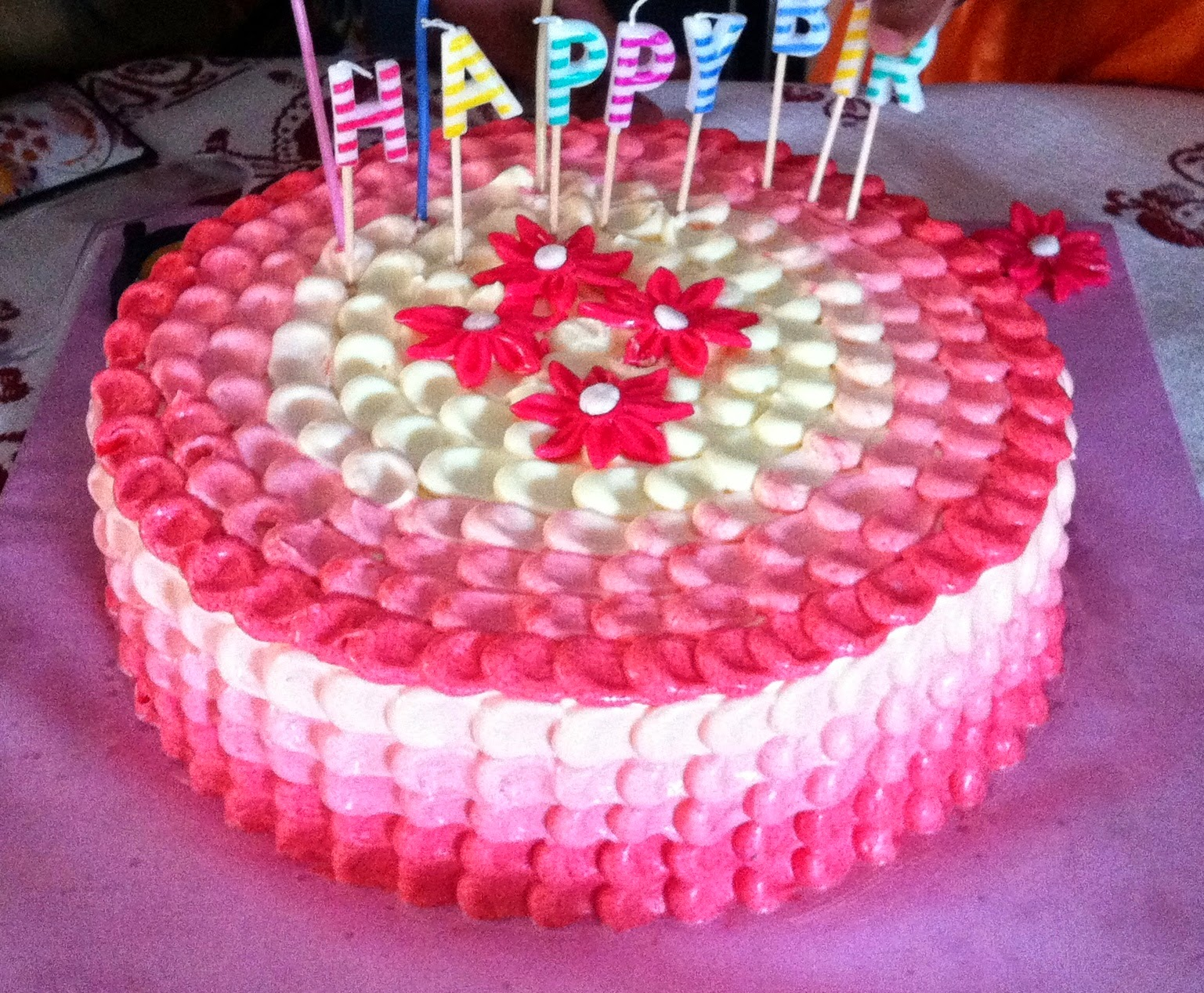 Cake Images For Pooja : PRISHA s HOME BAKES: Special Birthday Cakes!