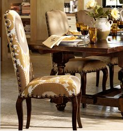 I Spotted These Suzani Chairs In The New Pottery Barn Catalog And Fell In  Love. I Love The Nailheads Outlining The Chair, But Iu0027m Not A Huge Fan Of  The ...