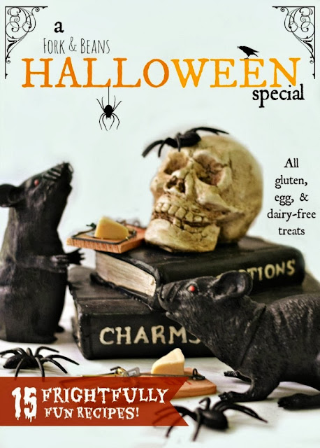 Fork and Beans Halloween E-book Cover