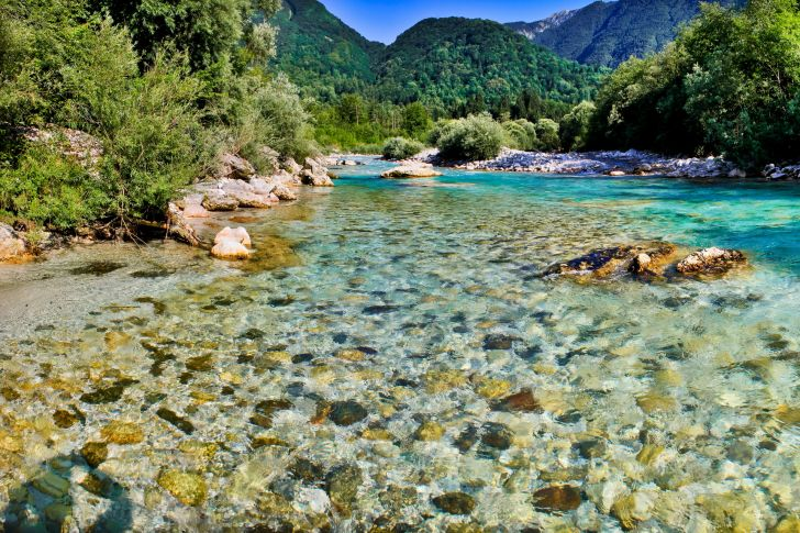 Soca River Jewels Of Nature Most Beautiful Places In The World Download Free Wallpapers