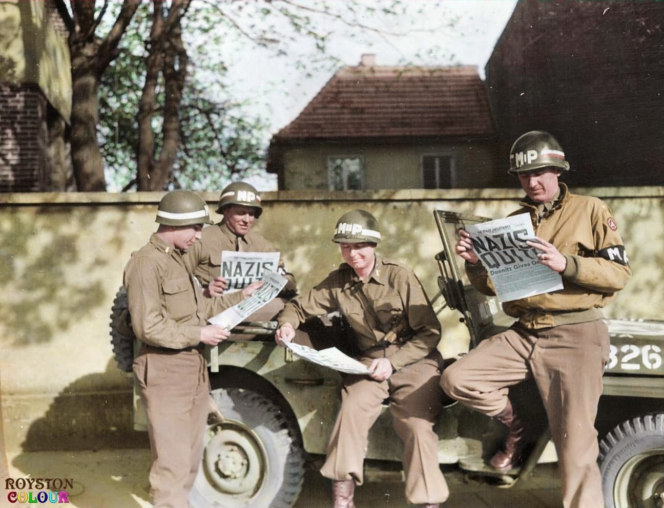 50 Breathtaking Wwii Colorized Photos Look Like They Were