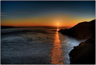 evening light - sunset