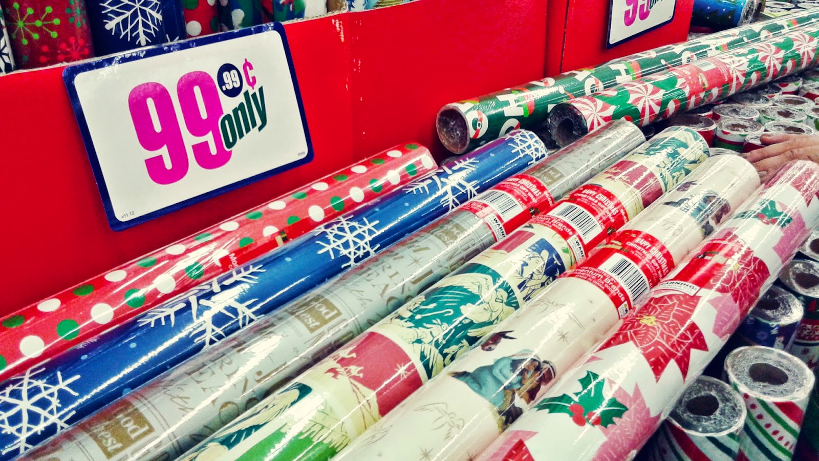 christmas wrapping paper designs with spiritual themes - 99 Cent Store Christmas Hours