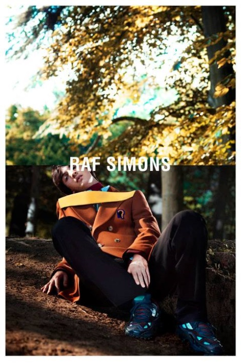 Luca Lemaire in Raf Simons Fall 2013 Campaign