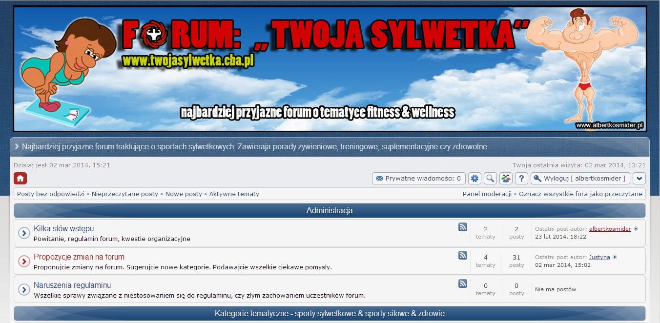Forum Twoja sylwetka