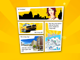 Crazy Taxi: City Rush Comic Strip