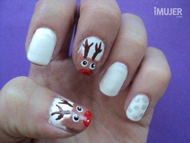 El ba l de la mona ideas para decorar tus u as navidad - Decoracion de unas para navidad ...