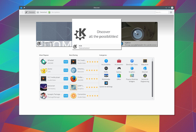 Discover KDE