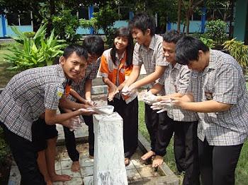 Foto Gerakan Cuci Tangan