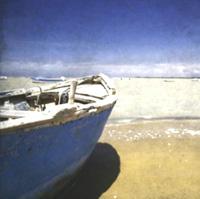 barca en la playa, vacaciones en el mar, lo he soñado y lo soñamos muchos