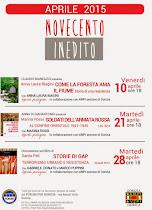 FORUM CULTURA PER GORIZIA: NOVECENTO INEDITO, APRILE 2015