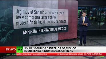 URGEN AL SENADO RECHAZAR LEY DE SEGURIDAD INTERIOR.