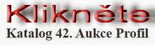 22. 11. 2014: Katalog 42. aukce Profil na internetu!