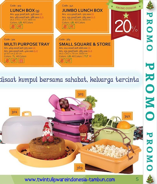 Promo Diskon Tulipware Desember 2015, Multi Tumbler, Splash Bottle Fun Series