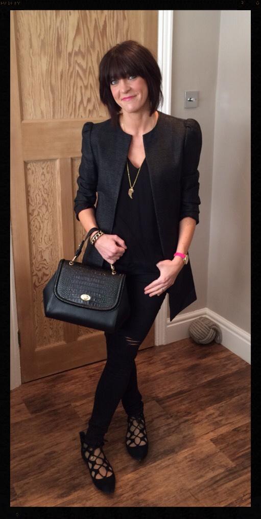Ghost Shania Mini Tote, Zara, My Midlife Fashion