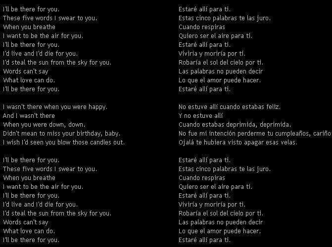 letra bon jovi it s: