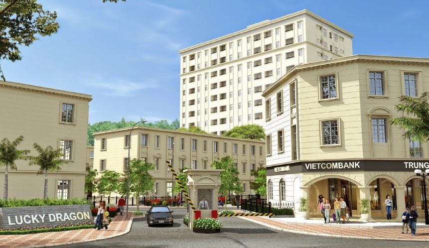 Bán căn hộ Lucky Dragon quận 9 giá 880 triệu/căn 2 phòng ngủ