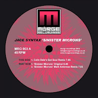 Jace Syntax Sinister Microns Murge Recordings