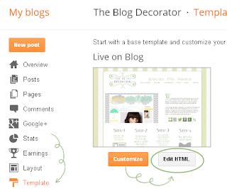 Pastikan Menghilangkan Centang Show Share Button Default Blogger dan lalu simpan