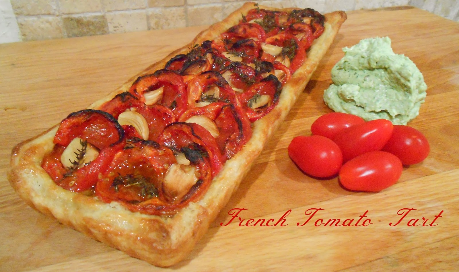 The good life mum: French tomato tart
