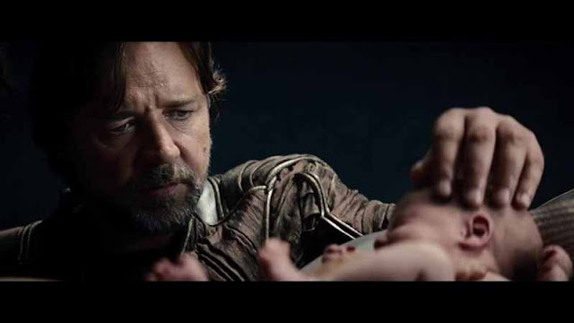man of steel jor-el russell crowe goodbye kal-el