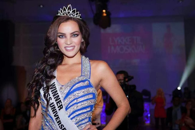Miss Universe Norway 2013 winne Mari Chauhan Ekelof