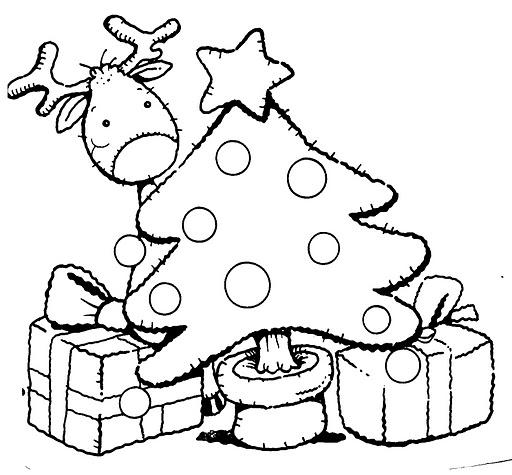 Maestros de coraz n l minas para colorear navidad - Laminas de navidad para colorear ...