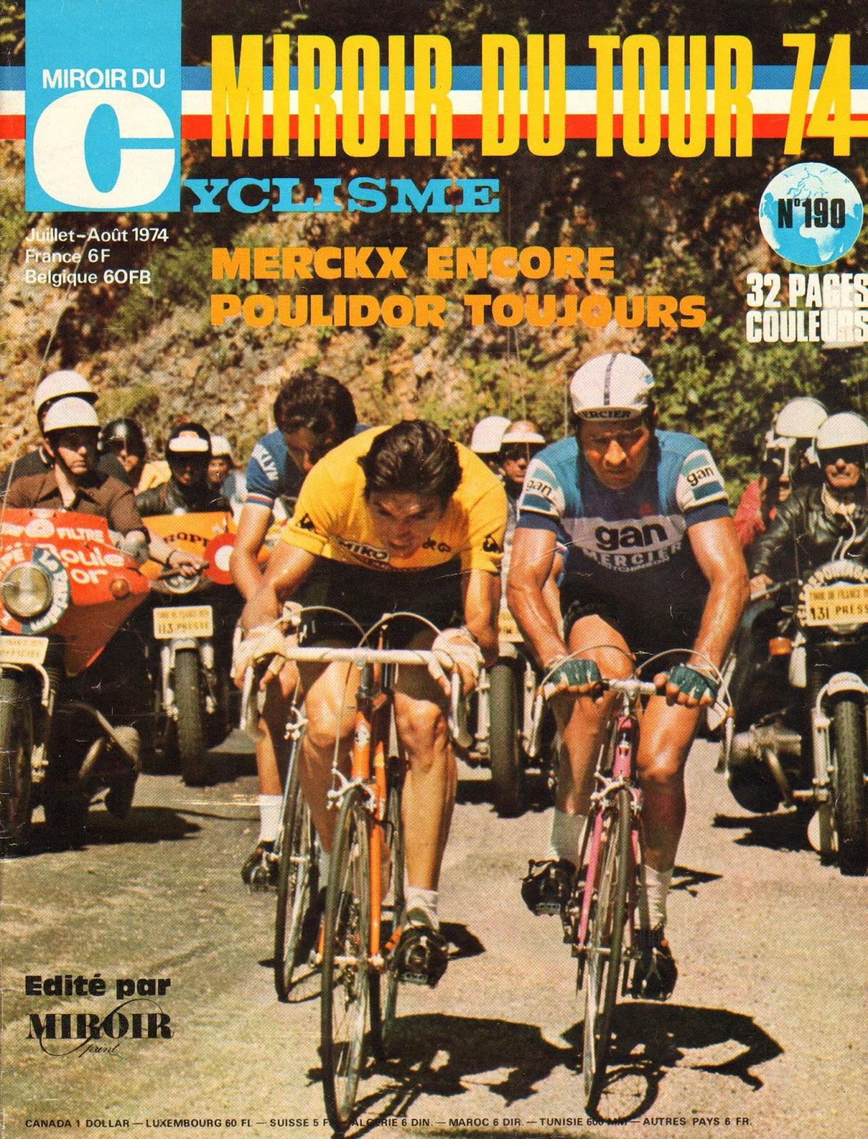 Mon tour de france 1959 la suite poulidor la une de for Miroir du cyclisme