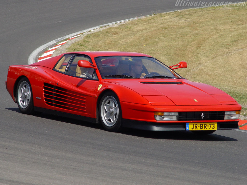 Fast Lane By Michael Bailey Ferrari Testarossa