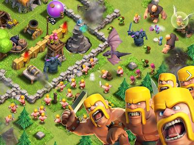 Clash of Clans: entretenido juego de rol y estrategia para Facebook