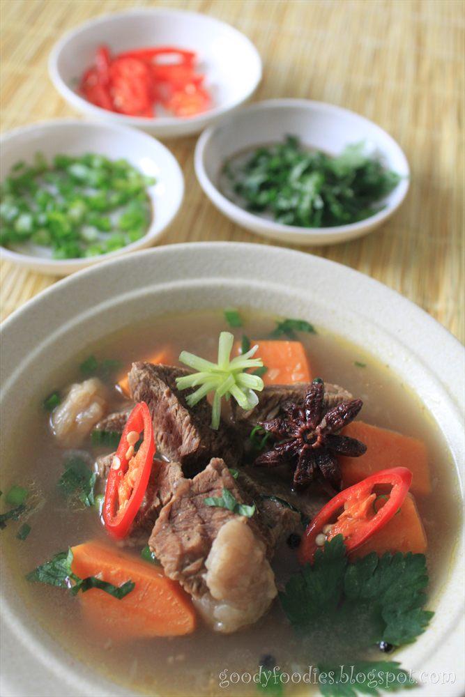 Goodyfoodies recipe sarawak braised beef soup goodyfoodies forumfinder Gallery