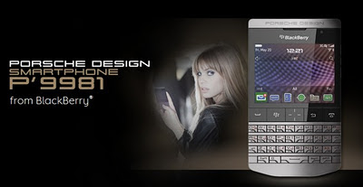 BlackBerry Porsche Design P'9981 Smartphone