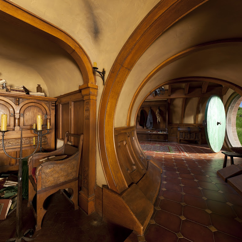 The blog of the hobbit a tour of hobbiton and bag end - Casas en el bages ...