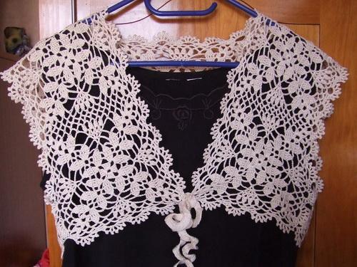 Free Crochet Pattern For Summer Wedding Shrug For Brides And
