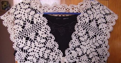 Crochet Patterns to Try: Free Crochet Pattern for Summer Wedding Shrug ...