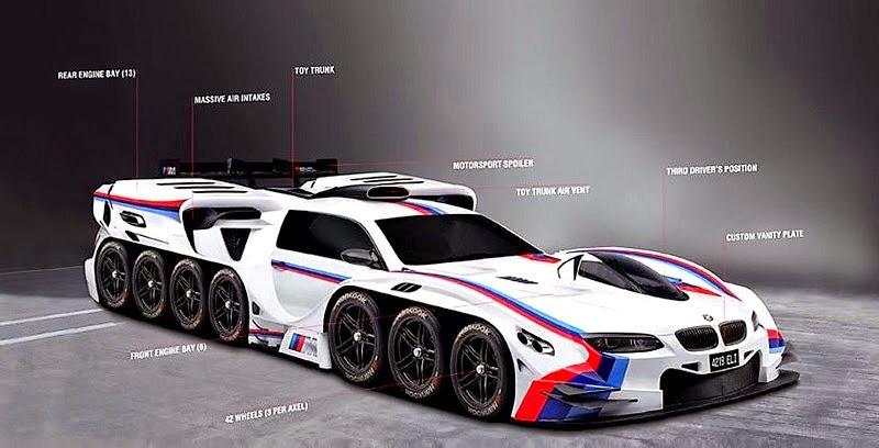 Gambar Modifikasi Mobil BMW Ektrim