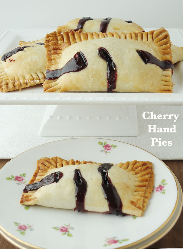 ... and filled it with cherries to make these scrumptious cherry hand pies