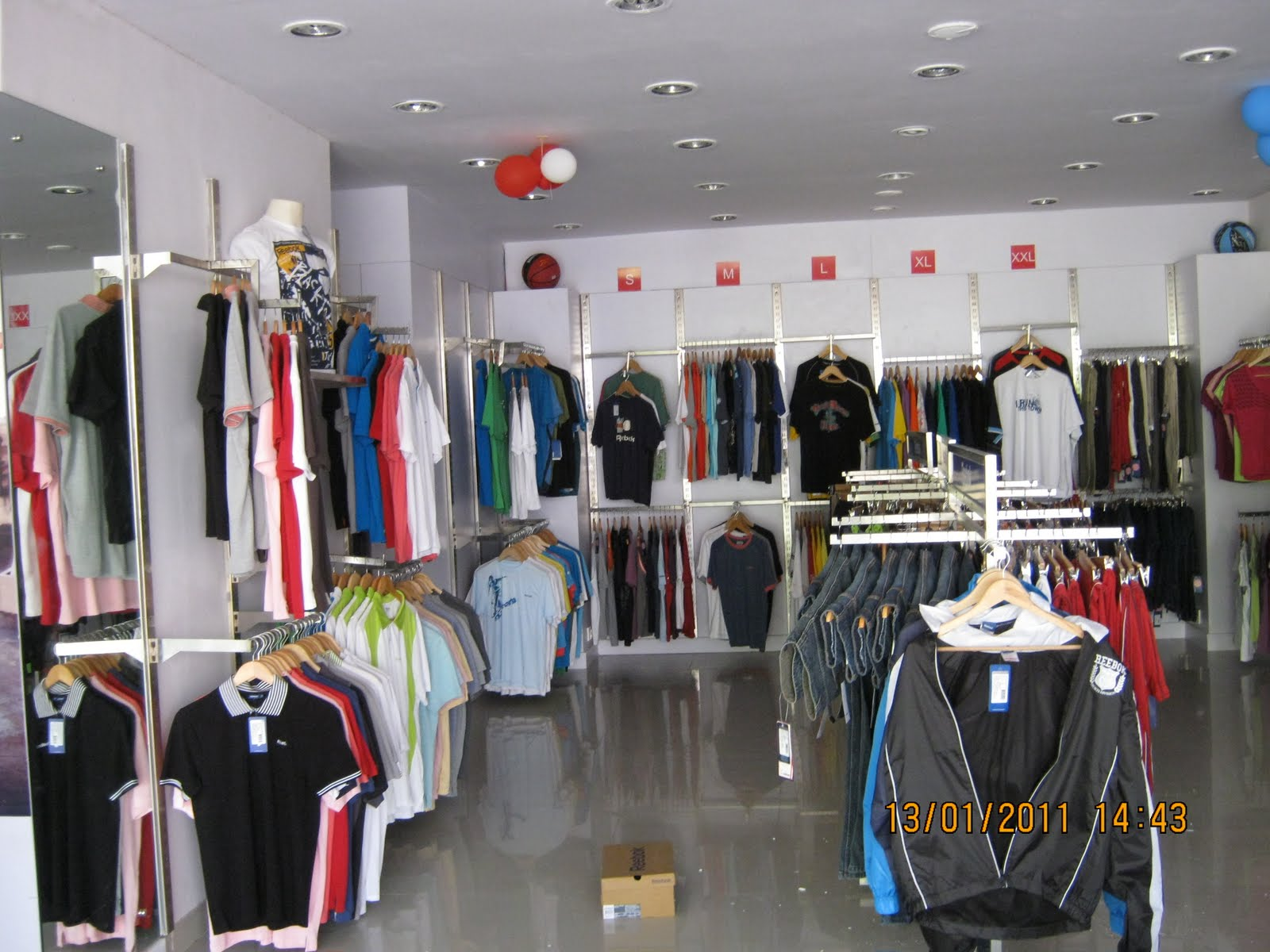 reebok showroom in bangalore