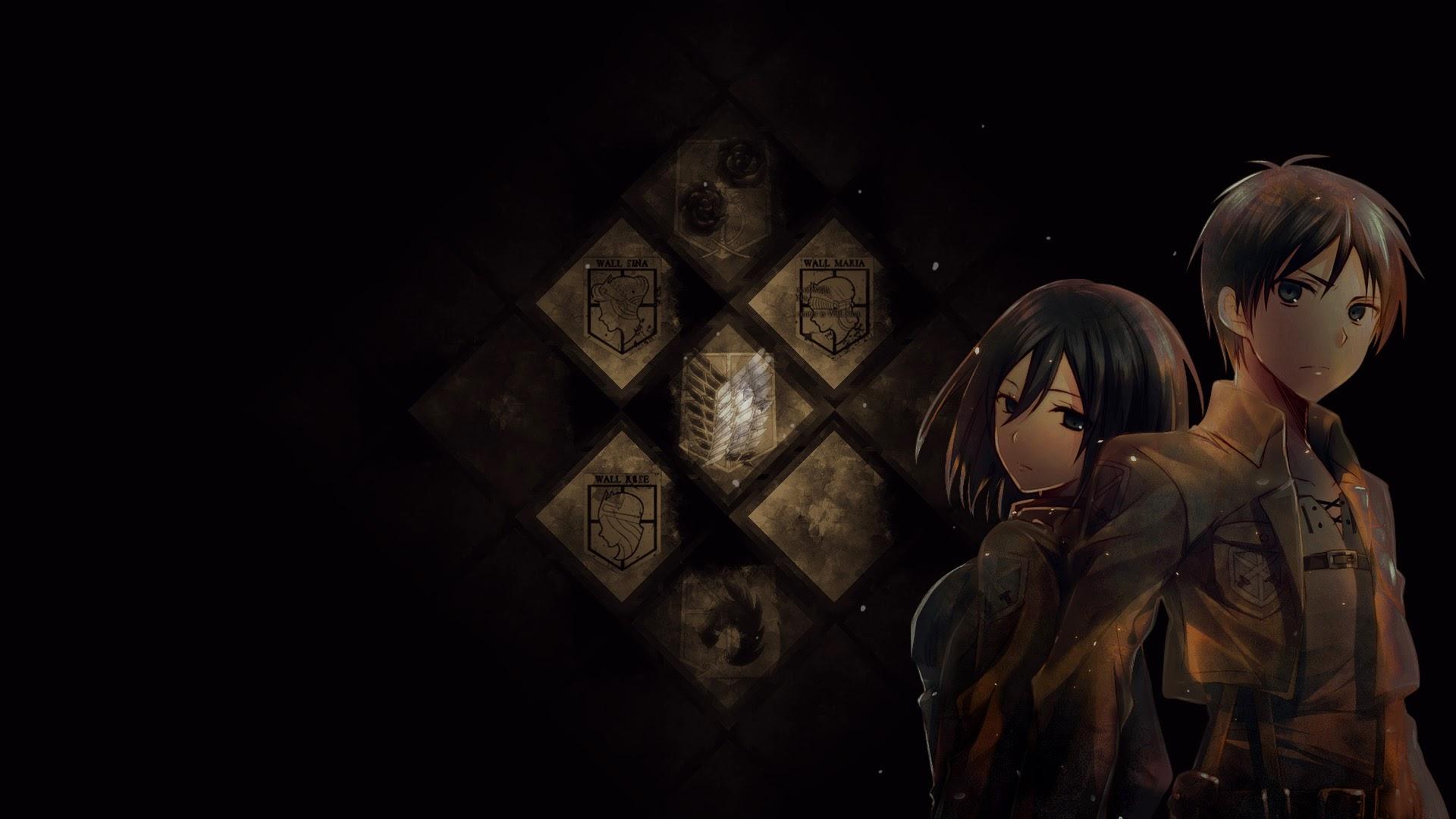Mikasa and eren anime picture 93 wallpaper hd mikasa ackerman and eren jaeger attack on titan shingeki no kyojin 1920x1080 93 voltagebd Choice Image