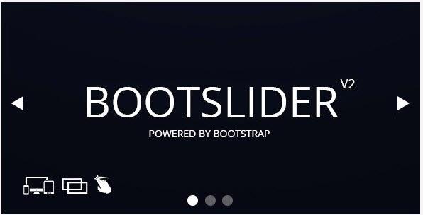 Bootslider - Responsive Bootstrap CSS3 Slider