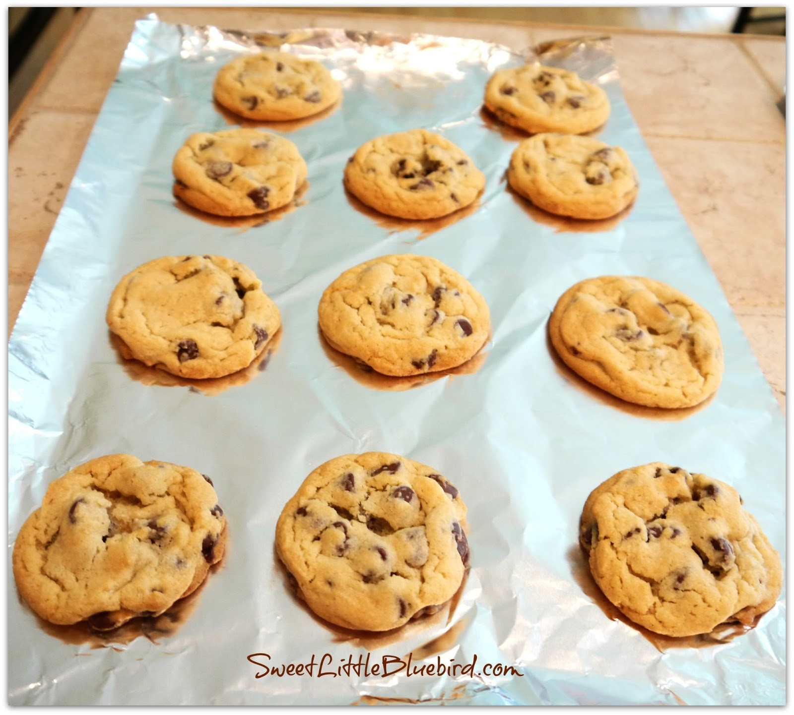 Sweet Little Bluebird: Perfect Chocolate Chip Cookies