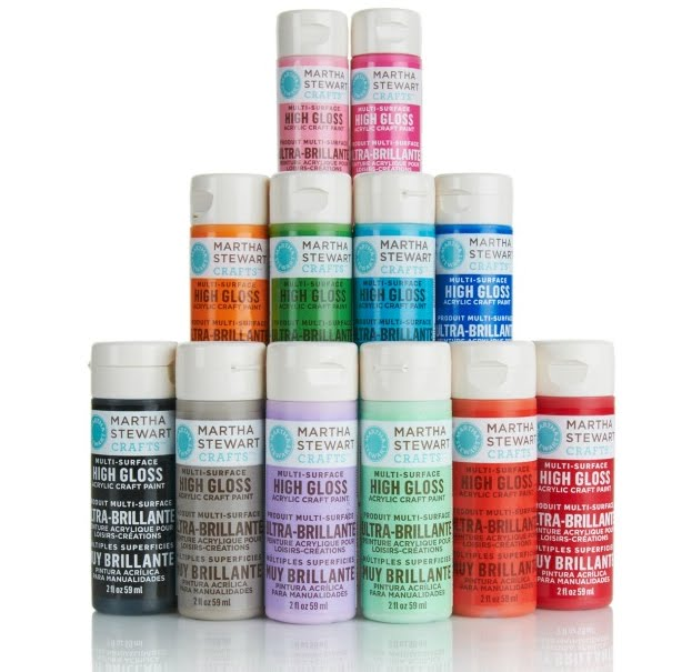 Martha moments new from martha stewart crafts for Martha stewart crafts spray paint kit