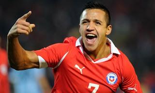 Chile contra Paraguay por Eliminatorias 2014