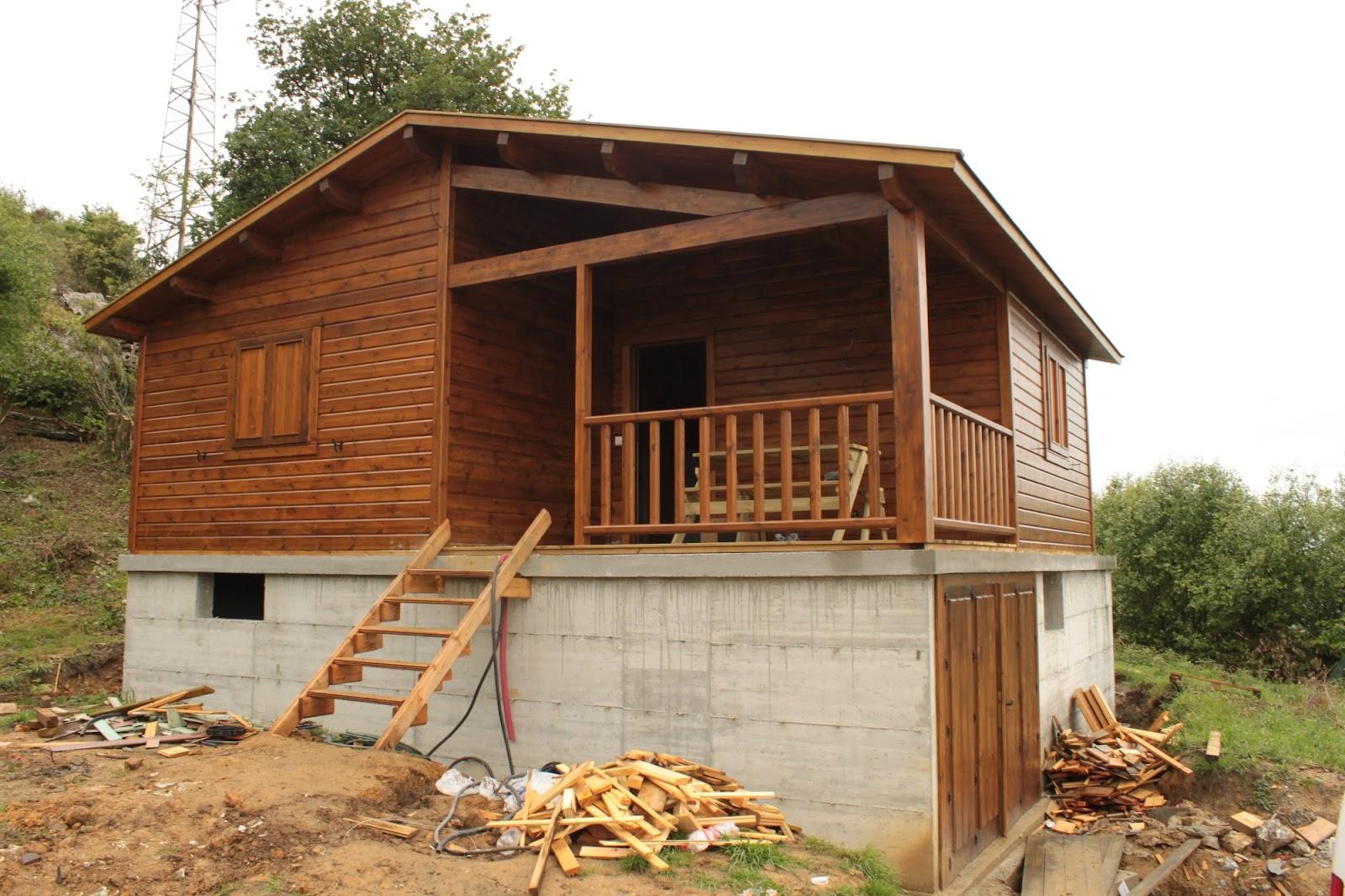 Cantabria loisirs cantabrie loisirs construcciones en - Construcciones de casas de madera ...