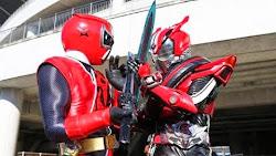 Shuriken Sentai Ninninger VS Kamen Rider Drive Spring Vacation Combining Special Sub